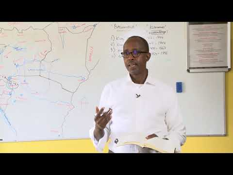 Embedded thumbnail for The connectedness of the African against Tribalism in the Great Lakes region. Part 2